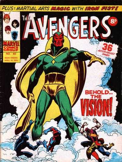 Avengers (Marvel UK) Vol 1 82