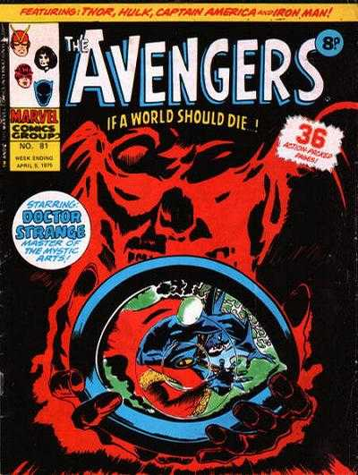 Avengers (Marvel UK) Vol 1 81