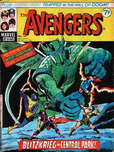 Avengers (Marvel UK) Vol 1 56