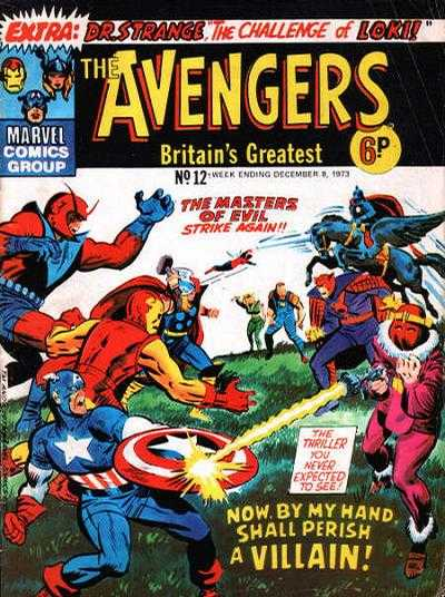 Avengers (Marvel UK) Vol 1 12