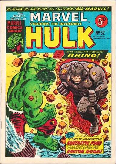 Mighty World of Marvel Vol 1 52