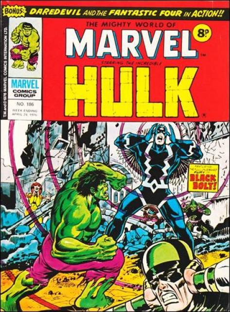 Mighty World of Marvel Vol 1 186
