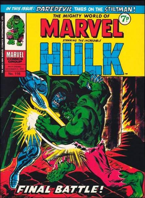 Mighty World of Marvel Vol 1 116