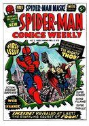 Spider-Man Comics Weekly -1
