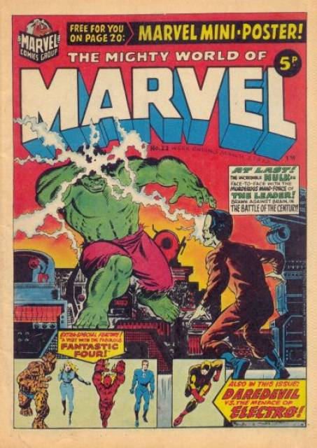 Mighty World of Marvel Vol 1 22