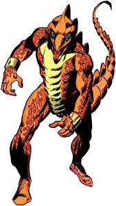 Stegron the Dinosaur Man