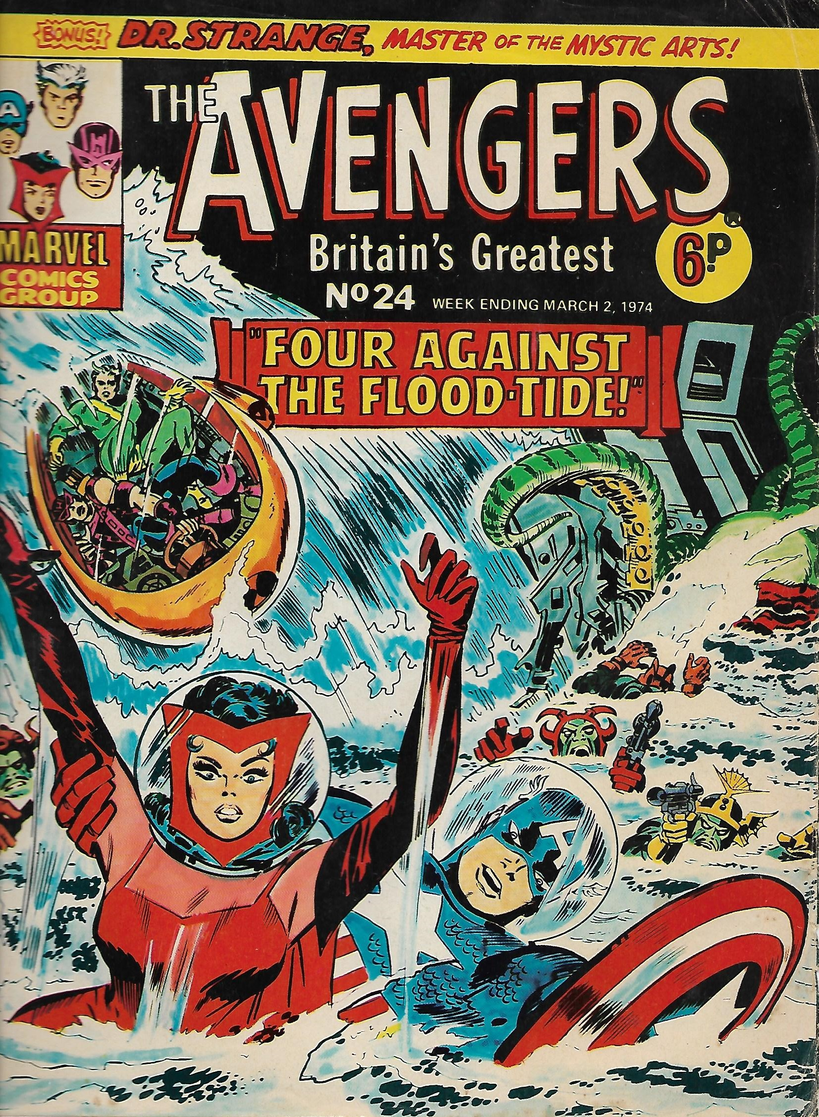 Avengers (Marvel UK) Vol 1 24