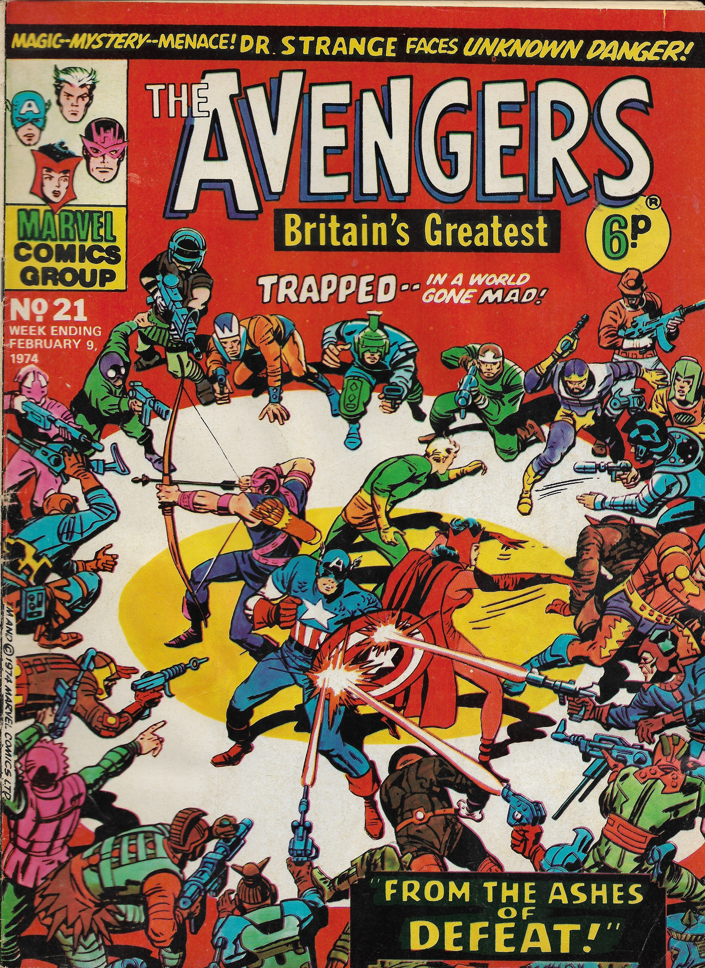 Avengers (Marvel UK) Vol 1 21