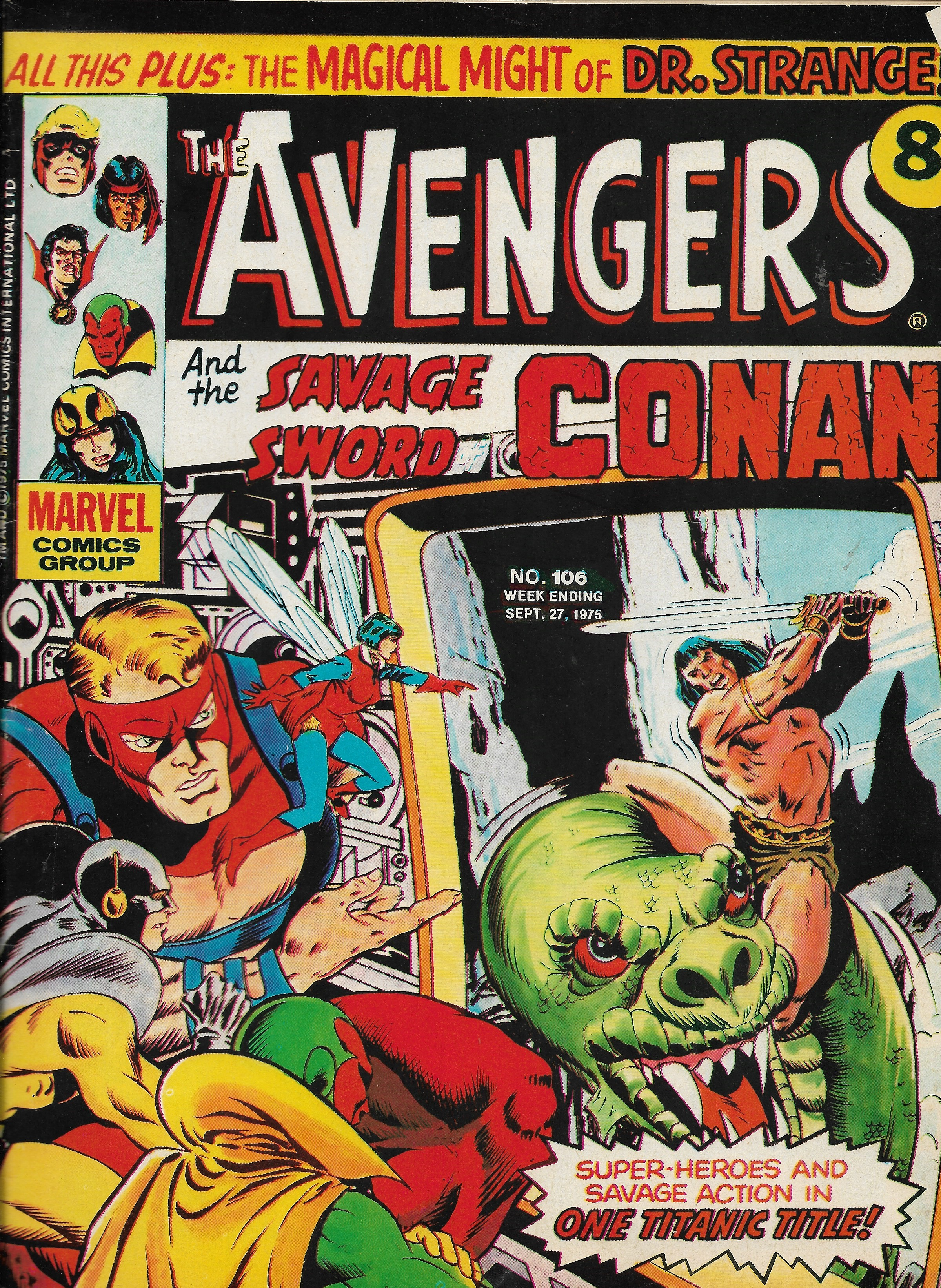 Avengers (Marvel UK) Vol 1 106