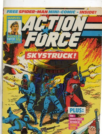 Action Force (Marvel UK) Vol 1 31