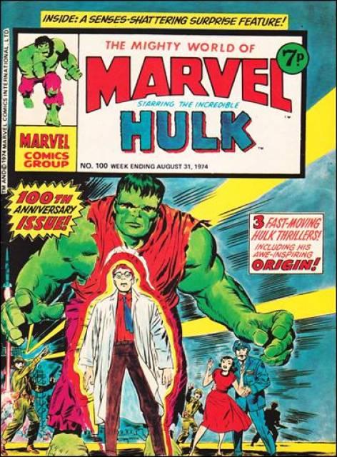 Mighty World of Marvel Vol 1 100