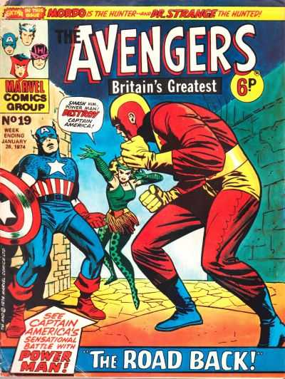 Avengers (Marvel UK) Vol 1 19