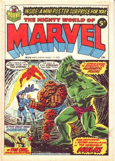 Mighty World of Marvel Vol 1 24