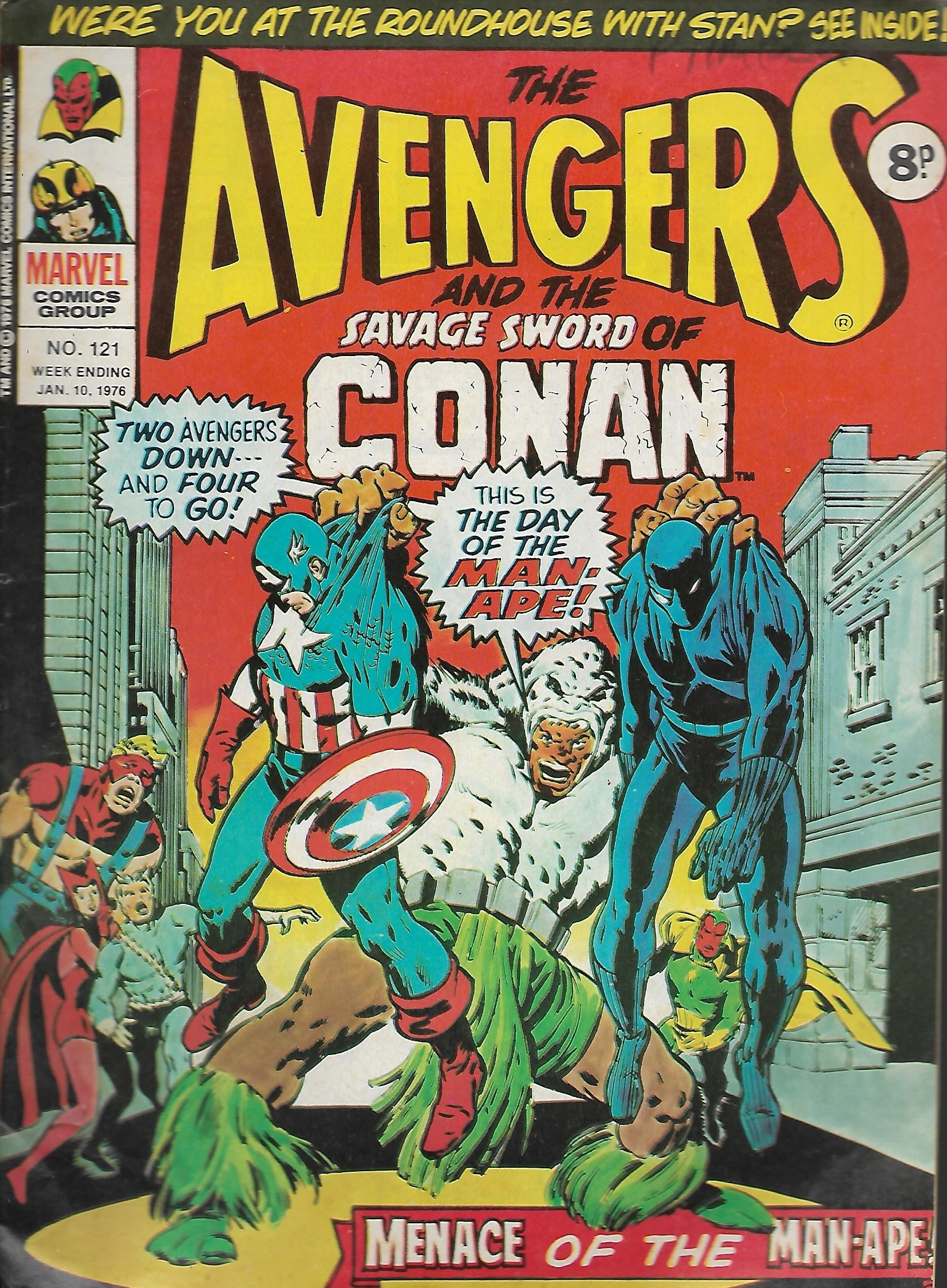 Avengers (Marvel UK) Vol 1 121