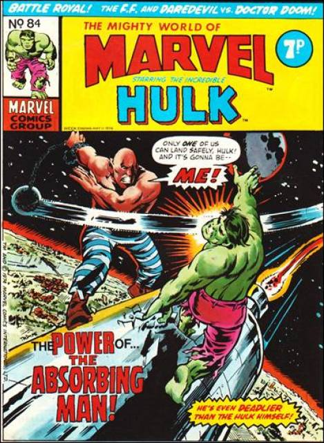 Mighty World of Marvel Vol 1 84