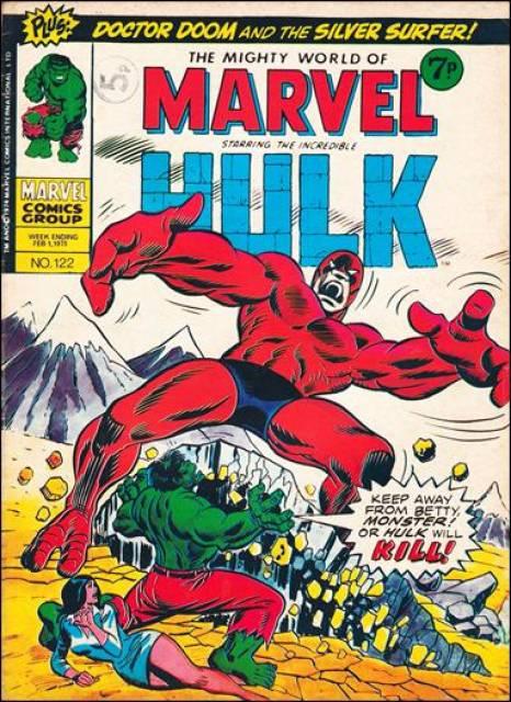 Mighty World of Marvel Vol 1 122