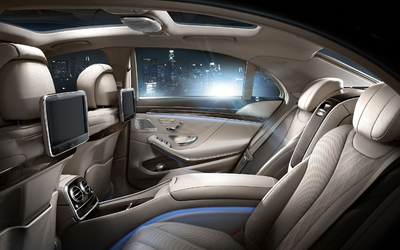 Amber's old 2014 Mercedes-Benz S550 with the 4-seater configuration (Executive Rear Seat Package PLUS)
