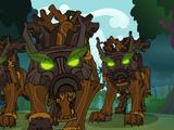 Timberjack, Lumberjack, and Rafterjack
