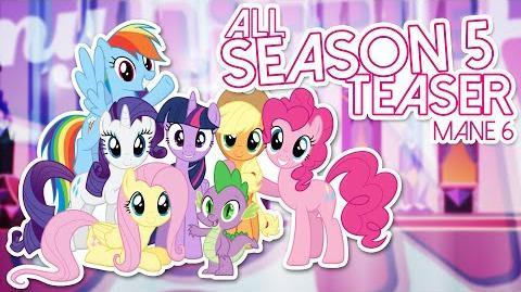 ᴴᴰAll My little Pony Friendship Is Magic Season 5 Mane 6 Teaser