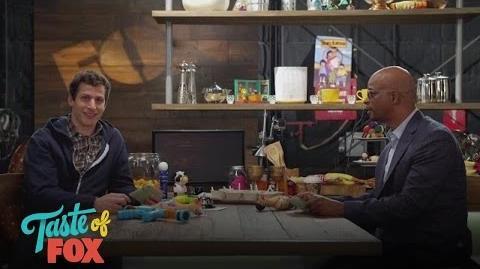 Andy Samberg & Damon Wayans What Is Damon Favorite Condiment? TASTE OF FOX