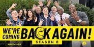 Season 8 promotional We're Coming Back Again!