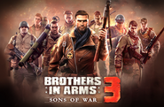 Brothers in Arms 3 Official Image Logo