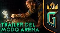 BETA VIDEO GWENT THE WITCHER CARD GAME TRAILER DEL MODO ARENA (Nuevo modo de juego)