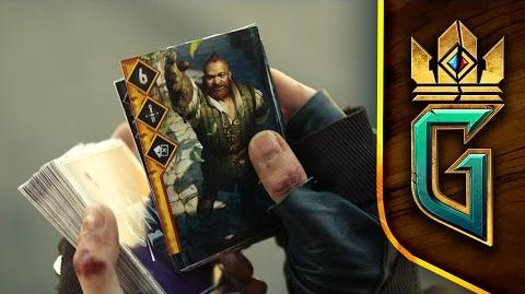 GWENT THE WITCHER CARD GAME Announcement Trailer