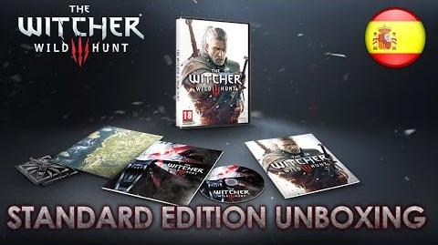 The Witcher 3 The Wild Hunt - PS4 XBOX ONE PC - Standard Edition Unboxing (Spanish Trailer)
