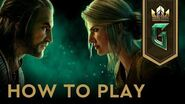 GWENT The Witcher Card Game How to Play