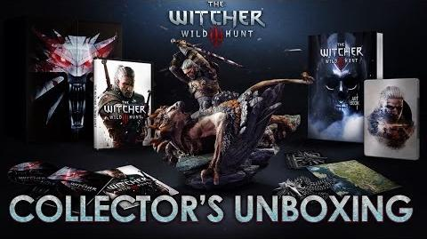 The Witcher 3 The Wild Hunt - PS4 XBOX ONE PC - Collector's Edition Unboxing (Official Trailer)