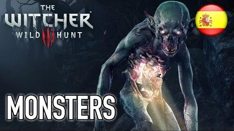 The Witcher 3 Wild Hunt - PS4 XB1 PC - Monsters (Spanish Dev Diary)