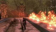 Temple Zaulia Fire