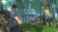 Asobimo's Btooom Online game app Ryouta and Himiko