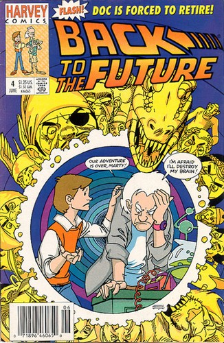 Back to the Future 4 (Harvey Comics)