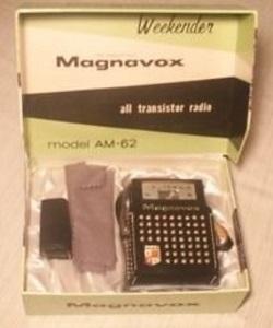 Magnavox Weekender AM-62
