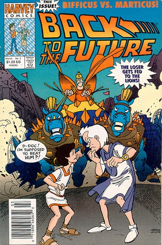 Back to the Future 3 (Harvey Comics)