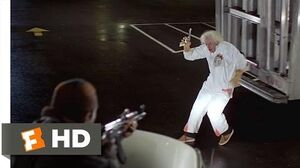 Back to the Future (2-10) Movie CLIP - The Libyans Find Doc Brown (1985) HD