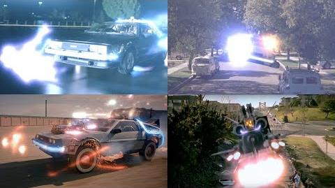 Back to the Future Time Travel Moments