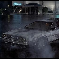 DeLorean time machine