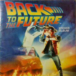 Back to the Future Sticker Album