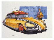Back-to-the-Future-Part-2-concept-art-illustration-John-Bell-Studio-taxi-1