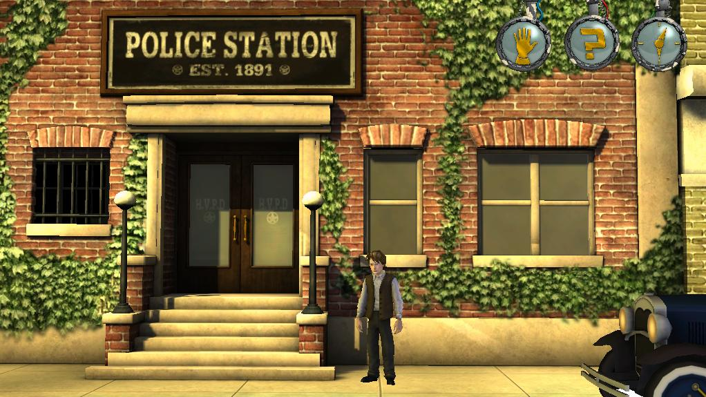Hill Valley Police Station