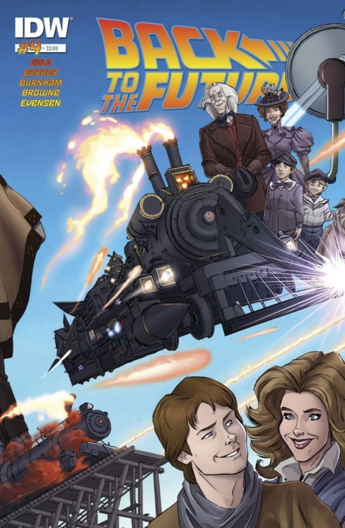 Back to the Future: Untold Tales and Alternate Timelines 4