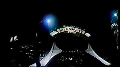 Back to the Future The Ride IMAX footage