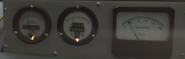 Roentgen meter in the Restored version of the Part III Car