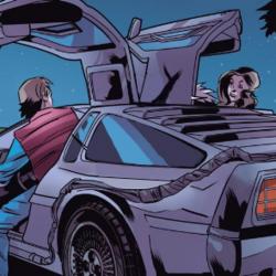 Second DeLorean time machine