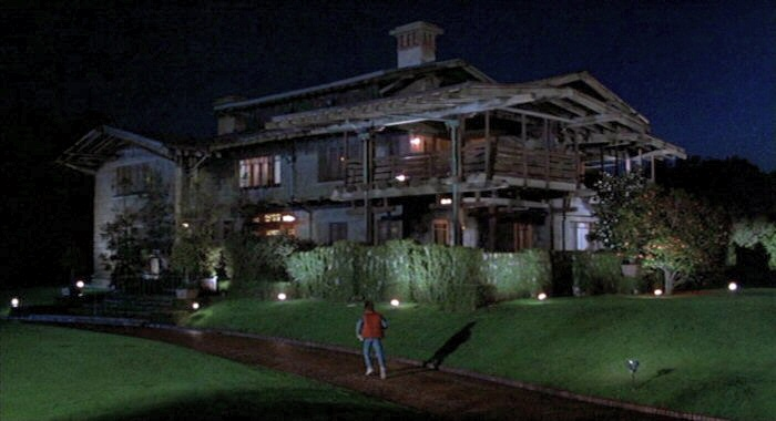 Doc Brown's mansion