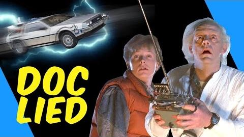 The REAL speed of the Delorean in BTTF