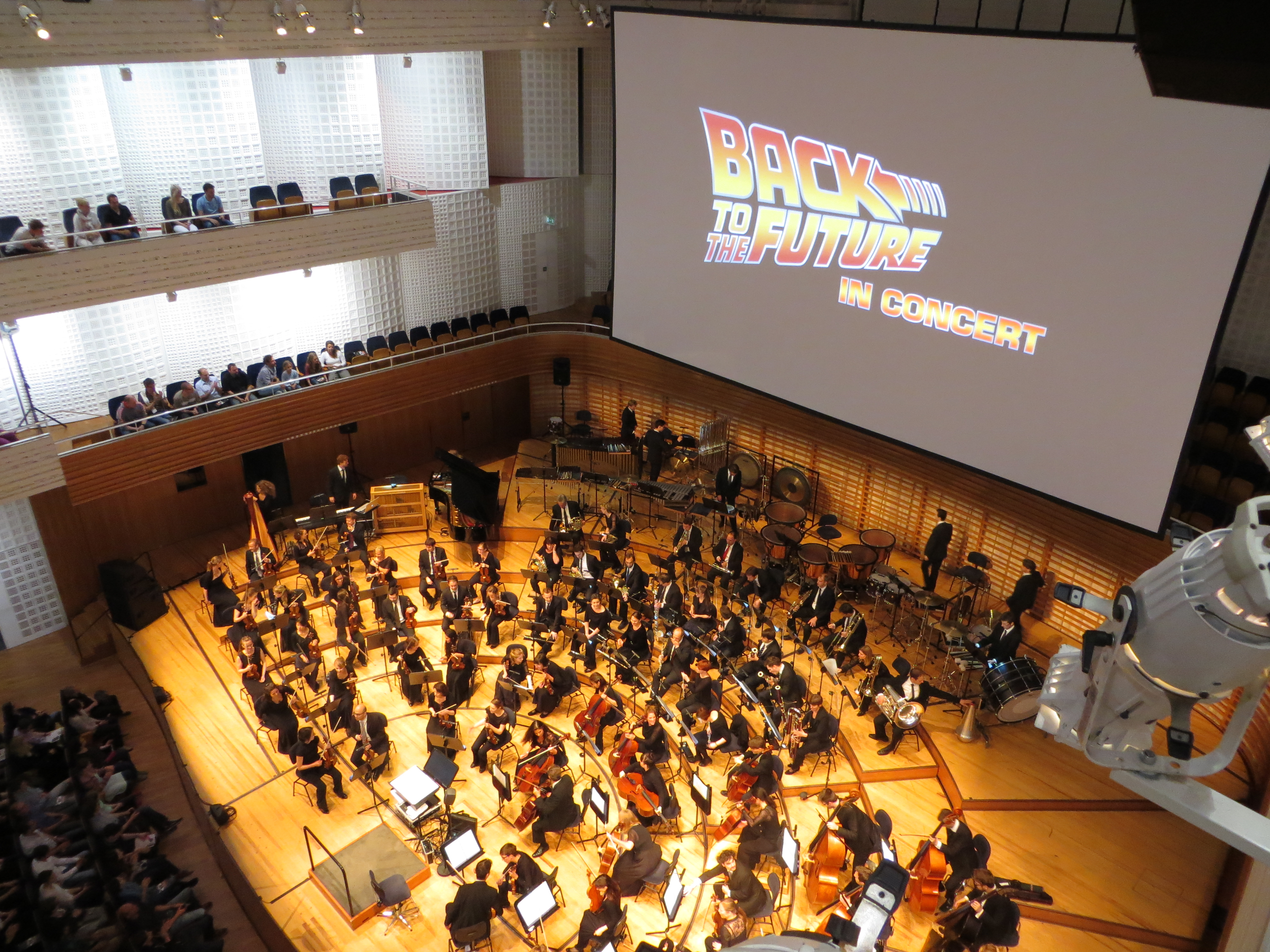 Back to the Future Live in Concert